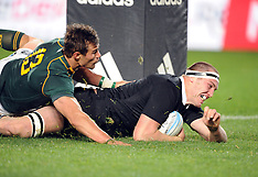 Auckland-Rugby, New Zealand v South Africa. September 14
