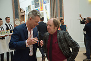 TIM MARLOW; RICHARD WILSON, Royal Academy Summer exhibition party. Piccadilly. 7 June 2016