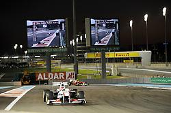 11.11.2011, Yas-Marina-Circuit, Abu Dhabi, UAE, Grosser Preis von Abu Dhabi, im Bild Kamui Kobayashi (JPN), Sauber F1 Team  // during the Formula One Championships 2011 Large price of Abu Dhabi held at the Yas-Marina-Circuit, 2011-11-11. EXPA Pictures © 2011, PhotoCredit: EXPA/ nph/ Dieter Mathis..***** ATTENTION - OUT OF GER, CRO *****