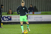 Forest Green Rovers Joseph Mills(23) warming up during the EFL Sky Bet League 2 match between Forest Green Rovers and Mansfield Town at the New Lawn, Forest Green, United Kingdom on 29 January 2019.