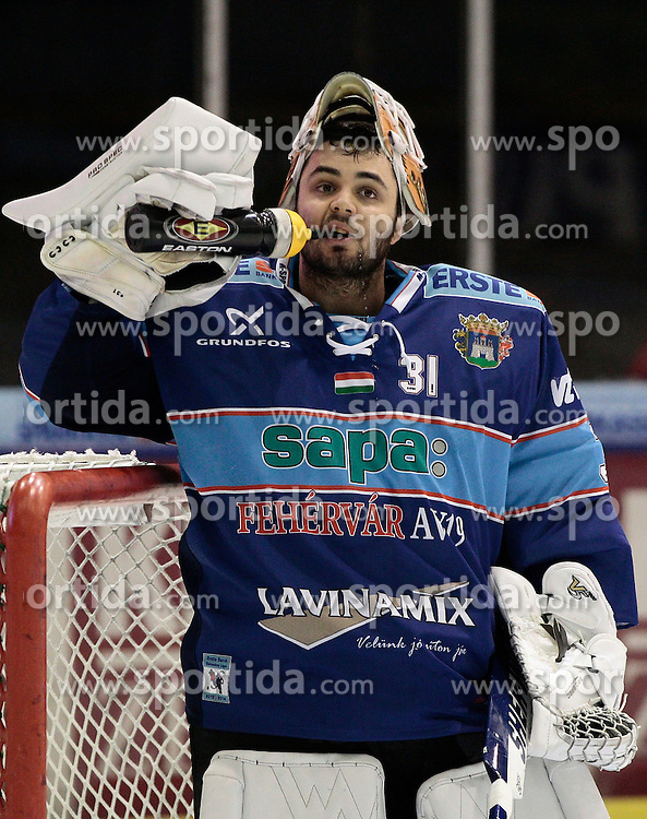 13.11.2013, Eisstadion Liebenau, Graz, AUT, EBEL, Moser Medical Graz 99ers vs SAPA Fehervar AV19, 34. Runde, im Bild Miklos Rajna (SAPA Fehervar AV19) // during the Erste Bank Icehockey League 34th Round match between Moser Medical Graz 99ers and SAPA Fehervar AV19 at the Ice Stadium Liebenau, Graz, Austria on 2013/11/13, EXPA Pictures © 2013, PhotoCredit: EXPA/ Erwin Scheriau