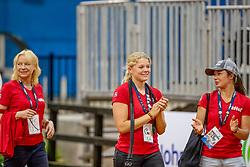 Derks Janika, GER, Carousso Hit, Lunger Lichtenberg Jessica<br /> World Equestrian Games - Tryon 2018<br /> © Hippo Foto - Stefan Lafrenz<br /> 19/09/18