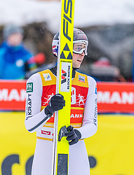 02.02.2020, Seefeld, AUT, FIS Weltcup Nordische Kombination, Skisprung HS 109, im Bild Jarl Magnus Riiber (NOR) // Jarl Magnus Riiber of Norway during Skijumping Competition HS 109 of FIS Nordic Combined World Cup at the Seefeld, Austria on 2020/02/02. EXPA Pictures © 2020, PhotoCredit: EXPA/ Stefan Adelsberger