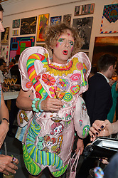 GRAYSON PERRY at the Royal Academy of Arts Summer Exhibition Preview Party at The Royal Academy of Arts, Burlington House, Piccadilly, London on 7th June 2016.