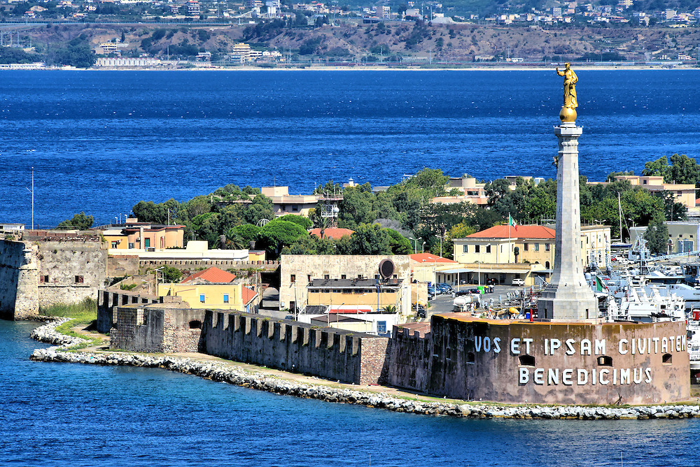 Madonna Della Lettera in Messina, Italy <br />