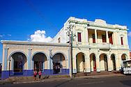 Building in San José de las Lajas, Mayabeque, Cuba.