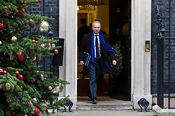 © Licensed to London News Pictures. 05/12/2017. London, UK. Justice Secretary David Lidington leaves 10 Downing Street after the weekly Cabinet meeting. Photo credit: Rob Pinney/LNP