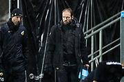 G&Ouml;TEBORG - 2018-02-18: Andreas Alm, huvudtr&auml;narei BK H&auml;cken under matchen i Svenska Cupen, grupp 4, mellan BK H&auml;cken och IFK V&auml;rnamo den 18 februari 2018 p&aring; Bravida Arena i G&ouml;teborg, Sverige.<br /> Foto: Anders Ylander/Ombrello<br /> ***BETALBILD***