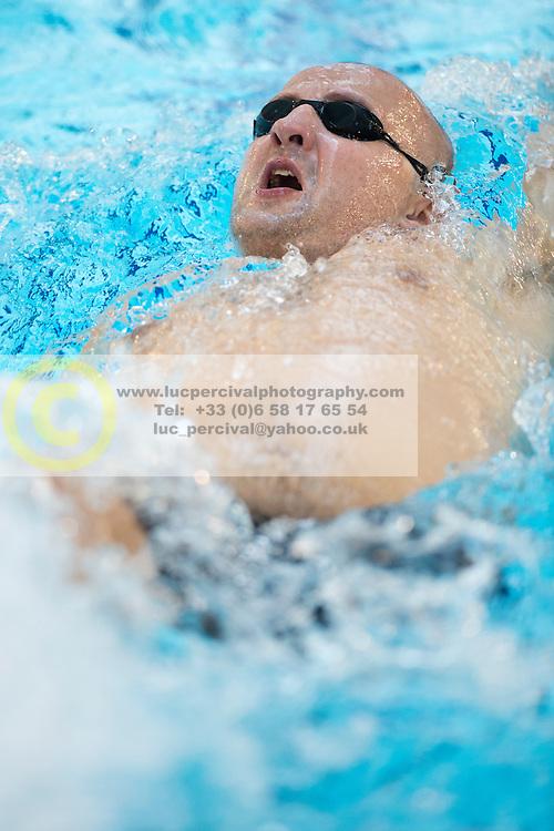 SMYRNOV Viktor UKR at 2015 IPC Swimming World Championships -  Men's 100m Backstroke S11