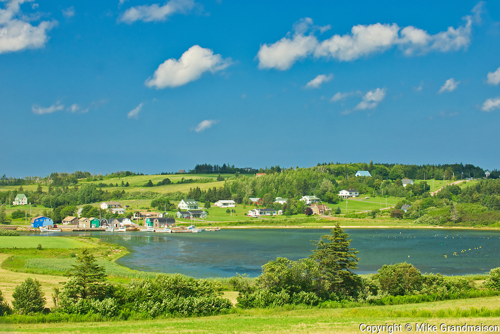 Coastal village<br />