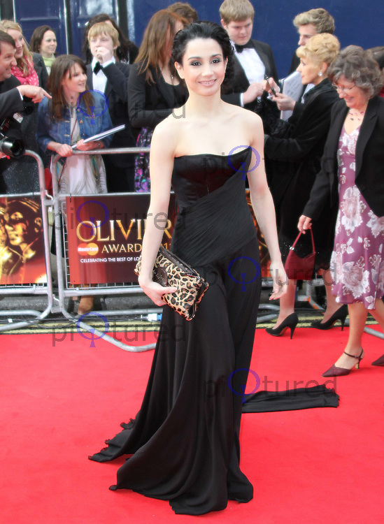 Tamara Rojo The Olivier Awards 2011, Theatre Royal Drury Lane, London, UK, 13 March 2011:  Contact: Ian@Piqtured.com +44(0)791 626 2580 (Picture by Richard Goldschmidt)