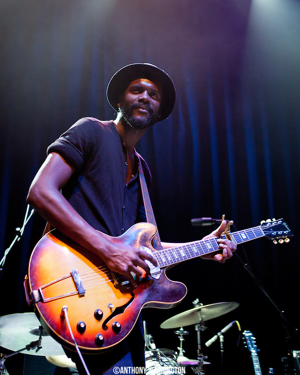 Gary Clark, Jr. performs at the 9:30 Club on Friday, November 9, 2012 in Washington, D.C.