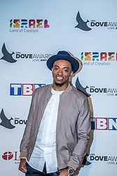 October 11, 2016 - Nashville, Tennessee, USA - Jonathan McReynolds at the 47th Annual GMA Dove Awards  in Nashville, TN at Allen Arena on the campus of Lipscomb University.  The GMA Dove Awards is an awards show produced by the Gospel Music Association. (Credit Image: © Jason Walle via ZUMA Wire)