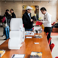 Visitors attend SCAD Open Day during the on February 22, 2014 at SCAD University in Hong Kong, China. Photo by Xaume Olleros / studioEAST