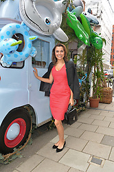 SAMANTHA BARKS at the launch of the new collection from Limoland held at Anderson & Sheppard's Haberdashery, 17 Clifford Street,London on 16th June 2014.