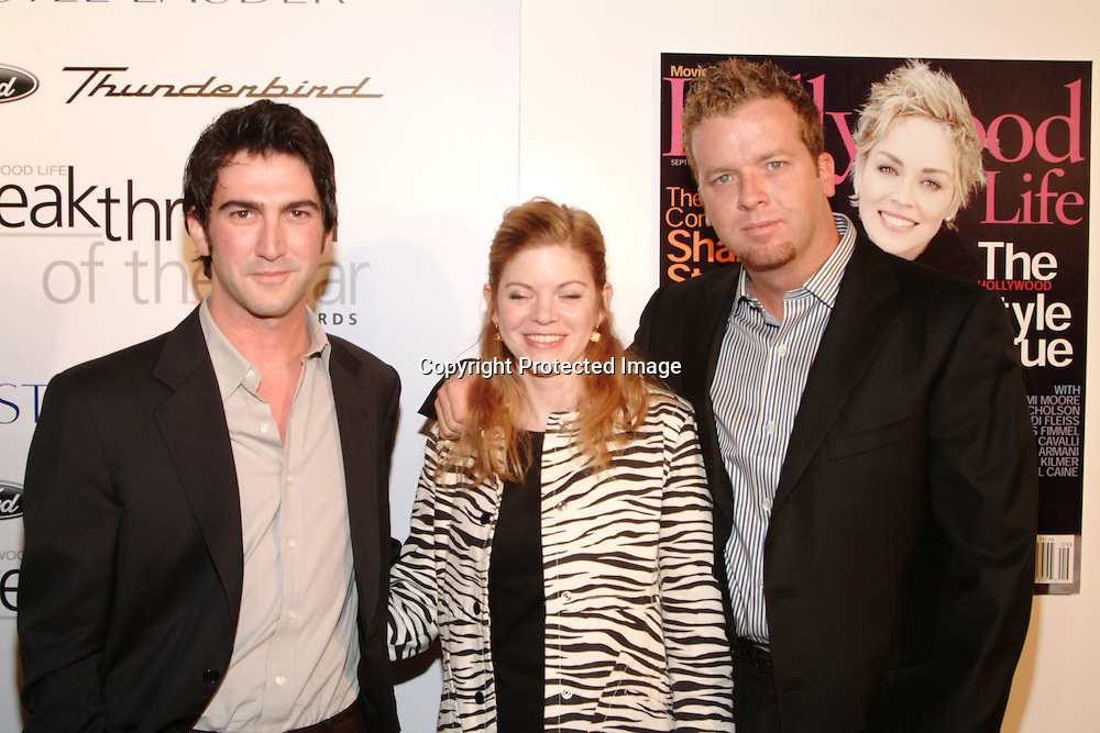 Josh Schwartz, Stephanie Savage and McG<br />2003 Movieline&rsquo;s Hollywood Life&rsquo;s &ldquo;Breakthrough Of The Year&rdquo; Awards<br />The Highlands Club at Hollywood &amp; Highland<br />Hollywood, CA, USA  <br />Saturday, November 15, 2003   <br />Photo By Celebrityvibe.com/Photovibe.com