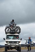 Biking Dutchman operation<br /> Andes<br /> ECUADOR, South America