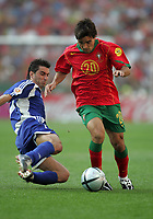 PORTO 12/06/04 PORTUGAL V GREECE (0-2) EURO 2004 <br />