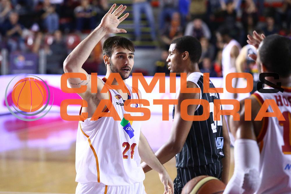 DESCRIZIONE : Roma Lega A 2013-2014 Acea Roma Pasta Reggia Caserta<br /> GIOCATORE : Riccardo Moraschini<br /> CATEGORIA : ritratto fair play<br /> SQUADRA : Acea Roma<br /> EVENTO : Campionato Lega A 2013-2014<br /> GARA : Acea Roma Pasta Reggia Caserta<br /> DATA : 23/02/2014<br /> SPORT : Pallacanestro <br /> AUTORE : Agenzia Ciamillo-Castoria/M.Simoni<br /> Galleria : Lega Basket A 2013-2014  <br /> Fotonotizia : Roma Lega A 2013-2014 Acea Roma Pasta Reggia Caserta<br /> Predefinita :