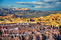 AFTERNOON PALLET OF COLOR, SNOW ON MOUNTAINS IN BACKGROUND, PINKISH HOODOOS IN FOREGROUND , GOLDEN LIGHT IN THE SUNSHINE!