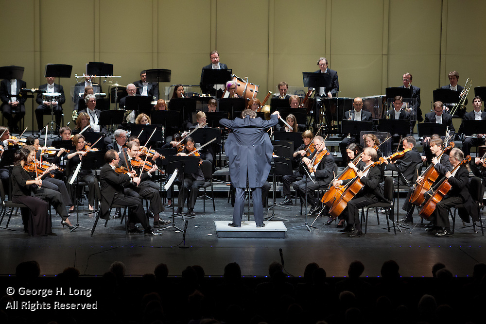 Louisiana Philharmonic Orchestra performs at the Mahalia Jackson Theater in New Orleans on October 18, 2009