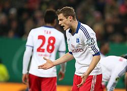 Football: Germany, DFB Cup<br /> Marcell Jansen (Hamburger SV, HSV)