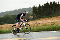 Tayler Wiles (USA) battles through the rain during Ladies Tour of Norway 2019 - Stage 1, a 128 km road race from Åsgårdstrand to Horten, Norway on August 22, 2019. Photo by Sean Robinson/velofocus.com