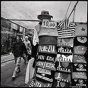 Venezia, Venise. Venice, Venedig; Veneto, Italien, Italy, Italia. Piazza San Marco, Campanile, Gondoliere, Giudecca, San Michele, Cimetero, Vaporetto, Biennale. © Romano P. Riedo | fotopunkt.ch