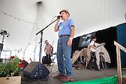 Bill Molloy at the mic.