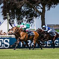 Ice Breeze (V. Cheminaud) wins Gr.2 Prix Hocquart Longines Chantilly, France 18/06/2017, photo: Zuzanna Lupa / Racingfotos.com