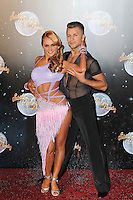 LONDON - SEPTEMBER 11: Aliona Vilani; Pasha Kovalev attended the Strictly Come Dancing Launch at the BBC Television Centre, London, UK. September 11, 2012. (Photo by Richard Goldschmidt)