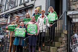 Pictured: scottish Green Party co-leader Lorna Slater and Lothian MSP Alison Johnstone, hope the Green candidates  step up to the plate.<br />