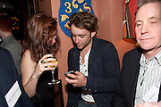 The Man Booker Best Of Beryl Prize, The Union, 50 Greek Street, London, 19 April 2011. Party celebrates special prize created by the Booker Foundation in honour of the late Beryl Bainbridge who died in July 2010.   -DO NOT ARCHIVE-© Copyright Photograph by Dafydd Jones. 248 Clapham Rd. London SW9 0PZ. Tel 0207 820 0771. www.dafjones.com. JESSICA BROWN; JOSH BROWN, The Man Booker Best Of Beryl Prize, The Union, 50 Greek Street, London, 19 April 2011. Party celebrates special prize created by the Booker Foundation in honour of the late Beryl Bainbridge who died in July 2010.   -DO NOT ARCHIVE-© Copyright Photograph by Dafydd Jones. 248 Clapham Rd. London SW9 0PZ. Tel 0207 820 0771. www.dafjones.com.
