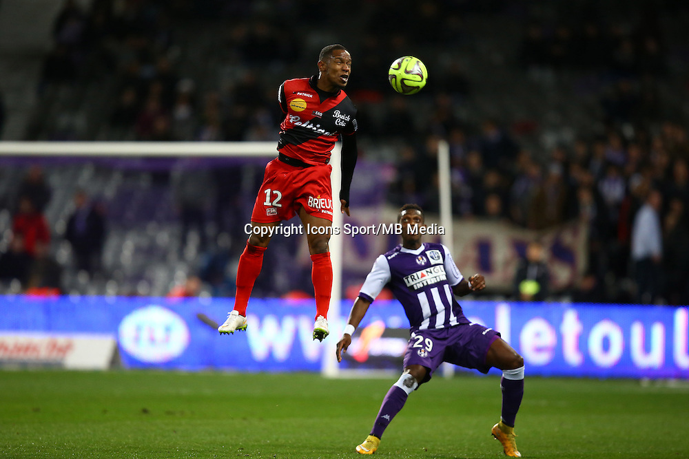Claudio Beauvue - 20.12.2014 - Toulouse / Guingamp - 17eme journee de Ligue 1 <br />Photo : Manuel Blondeau / Icon Sport