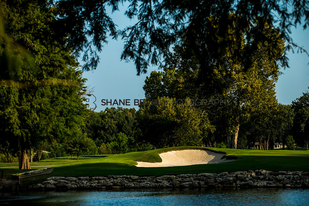 9/25/17 8:56:05 AM -- Bunkers and greens on Cedar Ridge Country Club for Jonesplan. <br /> <br /> Photo by Shane Bevel