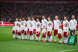 November 10, 2017 - Warsaw, Poland - Poland national football team during the international friendly soccer match between Poland and Uruguay at the PGE National Stadium in Warsaw, Poland on 10 November 2017  (Credit Image: © Mateusz Wlodarczyk/NurPhoto via ZUMA Press)