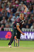Rory Kleinveldt during the NatWest T20 Blast final match between Northants Steelbacks and Lancashire Lightning at Edgbaston, Birmingham, United Kingdom on 29 August 2015. Photo by David Vokes.