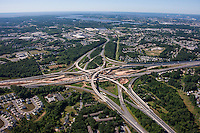 Baltimore Beltway interchange at interstat 95 in White Marsh MD by Jeffrey Sauers of Commercial Photographics