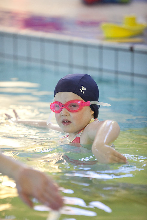 Sunday swimming lessons at the YMCA
