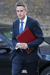 © Licensed to London News Pictures. 08/01/2019. London, UK. Gavin Williamson - Secretary of State for Defence arrives in Downing Street for the weekly Cabinet meeting. Photo credit: Dinendra Haria/LNP