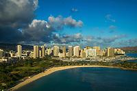 Waikiki Beach & Skyline