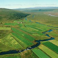 Fremstafell séð til norðurs, Þingeyjarsveit áður Ljósavatnshreppur / Fremstafell viewing north, Thingeyjarsveit former Ljosavatnshreppur.