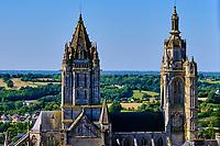 France, Manche (50), Coutances, église Saint-Pierre // France, Normandy, Manche department, Coutances, St Pierre church