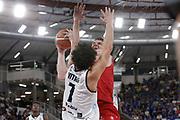 Arturas Gudaitis<br /> A | X Armani Exchange Milano - Leonessa Germani Brescia<br /> LBA Lega Basket Serie A<br /> Zurich Connect Supercoppa 2018<br /> Brescia, 29/09/2018<br /> Foto MarcoBrondi / Ciamillo-Castoria
