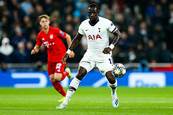 Moussa Sissoko of Tottenham Hotspur in action - Rogan/JMP - 01/10/2019 - FOOTBALL - Tottenham Hotspur Stadium - London, England - Tottenham Hotspur v Bayern Munich - UEFA Champions League Group B.