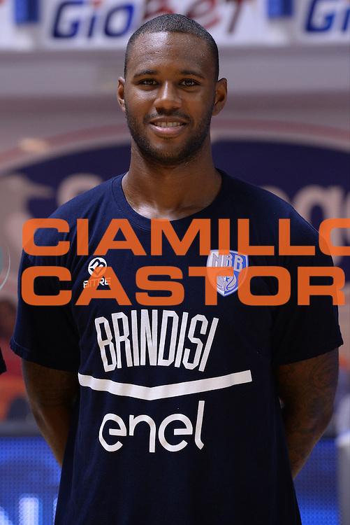 M'Baye Amath<br /> Presentazione Enel Brindisi<br /> Lega Basket Serie A 2016/2017<br /> Brindisi 31/08/2016<br /> Foto Ciamillo-Castoria