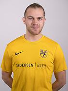 FODBOLD: Niclas Glud ved Ølstykke FC's officielle fotosession den 27. marts 2018 på Ølstykke Stadion. Foto: Claus Birch