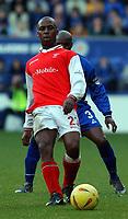 Fotball - England<br /> Sesongen 2002/2003<br /> Darren Byfield - Rotherham<br /> Foto: Tim Parker, Digitalsport