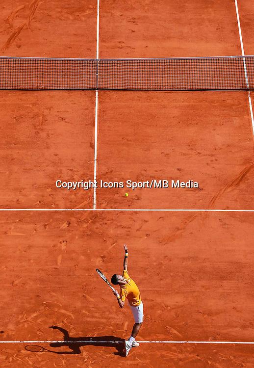 Novak Djokovic - 14.04.2015 - Tournoi de Monte Carlo - Masters 1000 -<br />Photo : Serge Haouzi / Icon Sport
