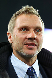 26.11.2011, AWD Arena, Hannover, GER, 1.FBL, Hannover 96 vs Hamburger SV, im Bild Thorsten Fink (coach Hamburger SV) // during the Match GER, 1.FBL, Hannover 96 vs Hamburger SV, AWD Arena, Hannover, Germany, on 2011/11/26. EXPA Pictures © 2011, PhotoCredit: EXPA/ nph/ SielskiSielski..***** ATTENTION - OUT OF GER, CRO *****